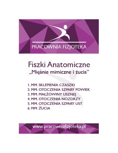 Anatomiczne Fiszki (2017) Zestaw 3 części